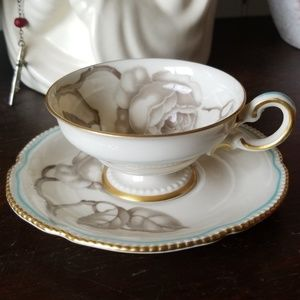 "Vintage Castleton China ""Gloria"" Demitasse Set"